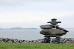 inukshuk at Point Pleasant Park - Halifax, NS